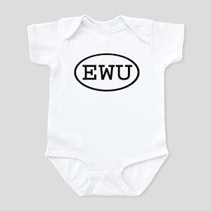 EWU Oval Infant Bodysuit