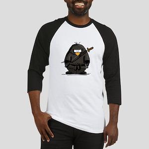 Martial Arts ninja penguin Baseball Jersey