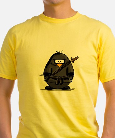 Martial Arts ninja penguin T