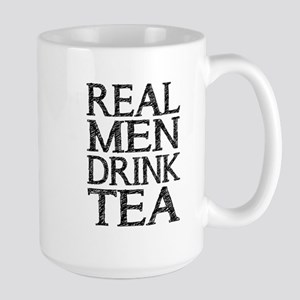 Real Men Drink Tea Mugs