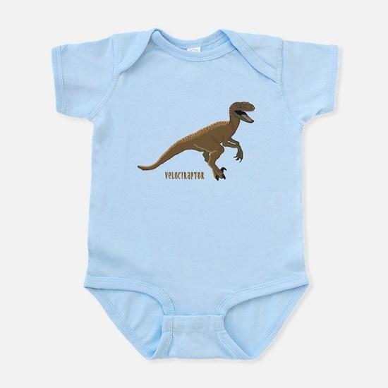 Velociraptor Dinosaur Infant Bodysuit