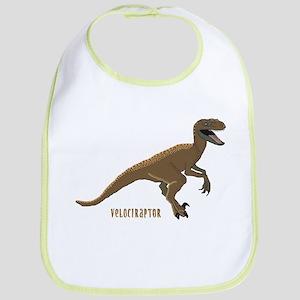 Velociraptor Dinosaur Bib