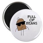 Full Of Beans Magnet