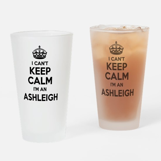 Funny Ashleigh Drinking Glass