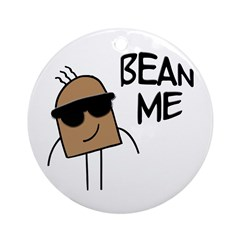 Bean Me Ornament (Round)