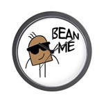 Bean Me Wall Clock