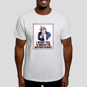 Impeach Already! Light T-Shirt
