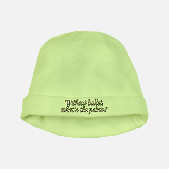 Without ballet - baby hat