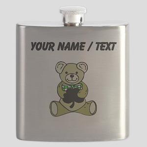Custom Irish Teddy Bear Flask