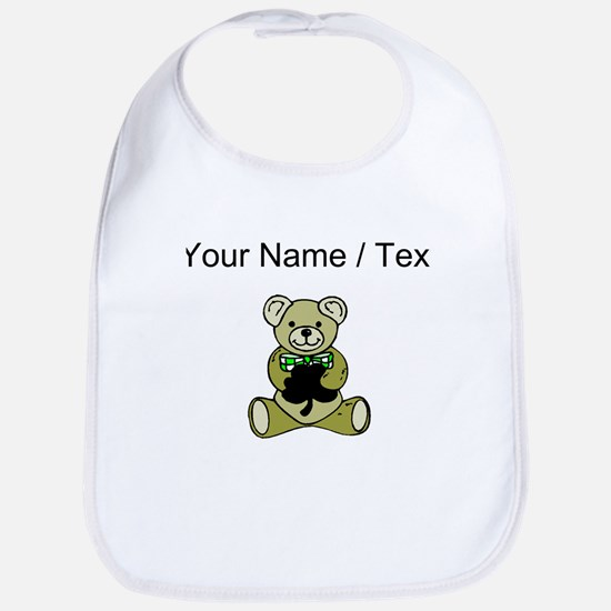 Custom Irish Teddy Bear Bib
