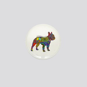 Peace Love Boston Terriers Mini Button (10 Pack)