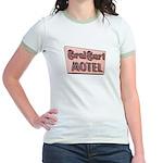 Coral Court SIGN Ringer T-shirt