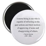 Charles Darwin 8 Magnet
