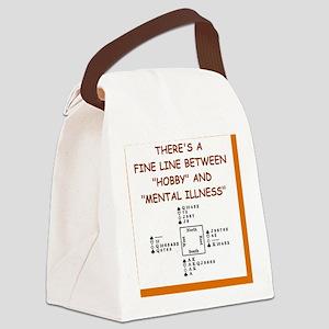 i love bridge Canvas Lunch Bag