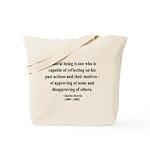 Charles Darwin 8 Tote Bag