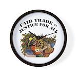 Fair Trade Wall Clock