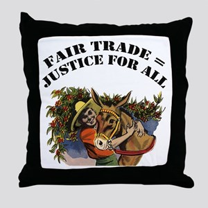 Fair Trade Throw Pillow