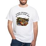 Fair Trade White T-Shirt
