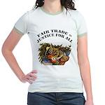 Fair Trade Jr. Ringer T-Shirt