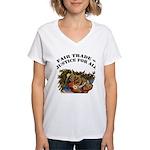 Fair Trade Women's V-Neck T-Shirt