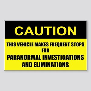 Paranormal Investigations and Eliminations Sticker