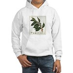 Coffee Botanical Print Hooded Sweatshirt