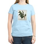 Coffee Botanical Print Women's Light T-Shirt