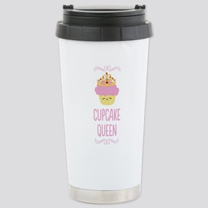 Cupcake Queen Stainless Steel Travel Mug