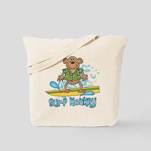 Surf Monkey Tote Bag