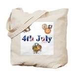 4th July Tote Bag