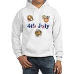 4th July Hooded Sweatshirt