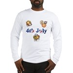 4th July Long Sleeve T-Shirt