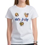 4th July Women's T-Shirt