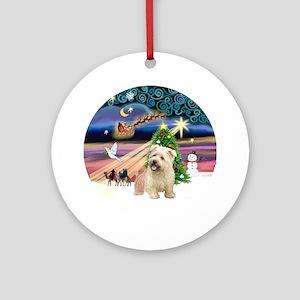 Xmas Magic & Glen of Imaal Ornament (Round)