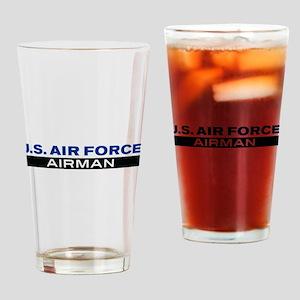 U.S. Air Force Airman Drinking Glass