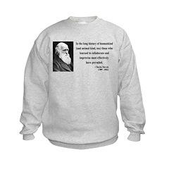 Charles Darwin 10 Sweatshirt