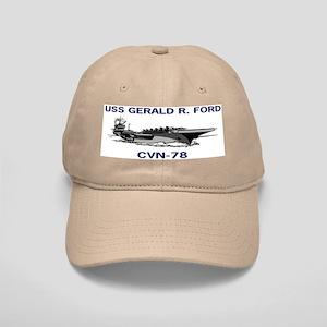 USS GERALD R. FORD Cap