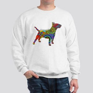 Peace Love Bull Terriers Sweatshirt