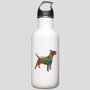 Peace Love Bull Terrie Stainless Water Bottle 1.0L