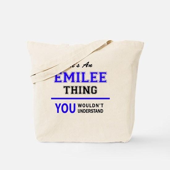 Cute Emilee Tote Bag