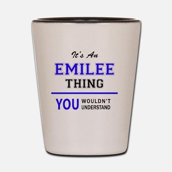 Unique Emilee Shot Glass