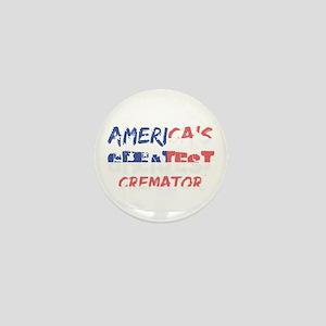 America's Greatest Cremator Mini Button