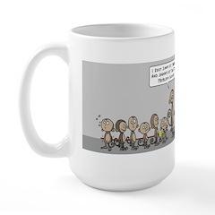 Bad Monkey Large Mug