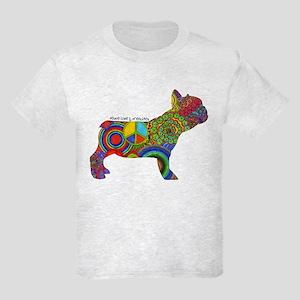 Peace Love Frenchies Kids Light T-Shirt