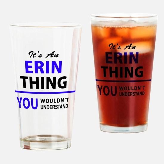 Cute Erin Drinking Glass