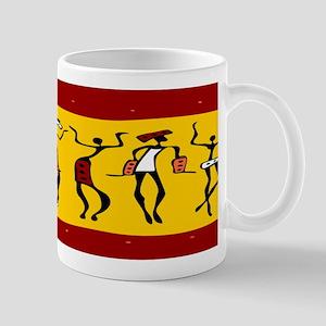 African Dancers Mugs