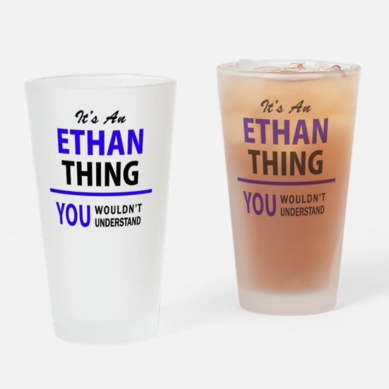 Cute Ethan Drinking Glass