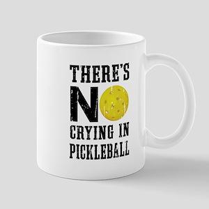 No Crying in Pickleball Mugs