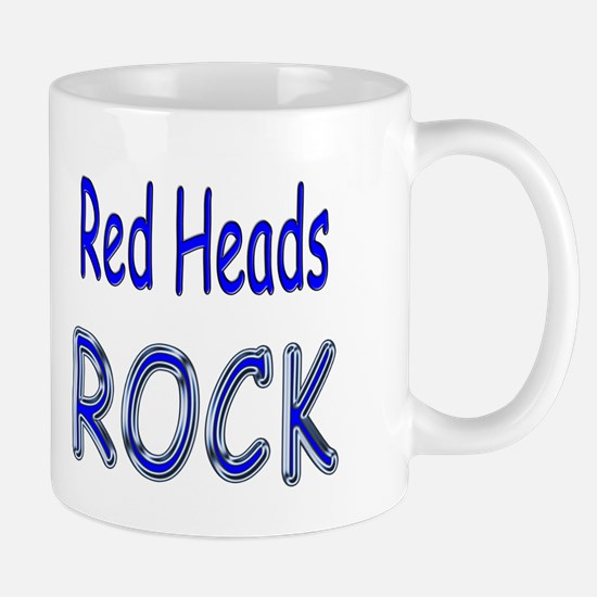 Red Heads Rock Mug