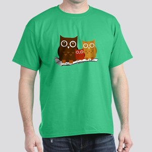 Three Owls Dark T-Shirt